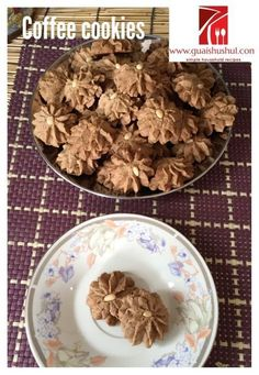 Coffee Cookies (咖啡曲奇)