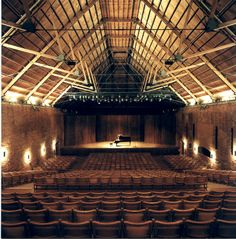 snape maltings concert hall. amazing conversion!