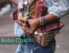 Oii Meninas, Hoje venho falar de uma tendência outono/inverno que voltou eveio para ficar, oBoho Chic ! O que é isso? Umestilo marcado pela mistura dos estilos hippie, vintage, folk e étnico. O ...