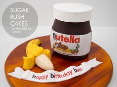 Nutella Jar Cake