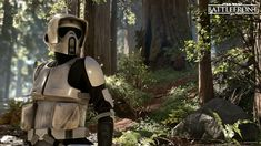 ArtStation - Star Wars Battlefront - Scouttrooper, Björn Arvidsson