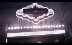 Playgrounds Festival Titles 2014 on Motion Graphics Collective