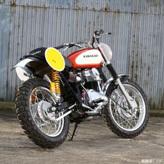 James Whitham's W650 tracker | Bike EXIF