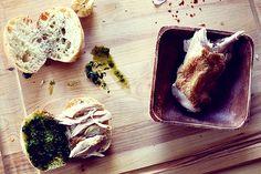 Cape Gooseberry Chimichurri chicken sandwich