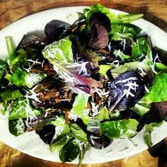 Romaine medley with cheese #simple