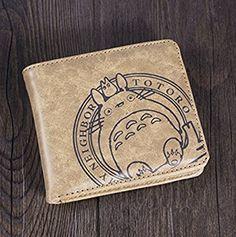 Anime-Stil Cosplay My Neighbor Totoro Brieftasche Personalisierte Portemonnaie Modeherz Portmonee Geldbörse Clutch Geldbeutel Geschenke For Man und Frauen Kurzen Absatz[Can i do best]