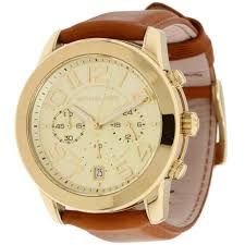 michael kors watch leather strap - Buscar con Google