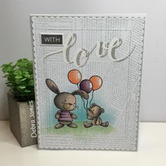 Cute little critters from #mftstamps for #thedailymarker30day #copiccoloring #cards #cardmaking