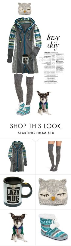 """""""Lazy days #864"""" by meryflower ❤ liked on Polyvore featuring Title Nine, UGG, San Diego Hat Co., Muk Luks and lazydays"""
