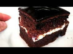 YouTube Lush Cake, Inside Cake, Sweet Pastries, Russian Recipes, Secret Recipe, Pastry Cake, Baked Goods, Chocolate Cake, Deserts