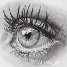 regram Good ole' graphite eye drawing by - wo. Amazing Drawings, Cool Art Drawings, Pencil Art Drawings, Art Drawings Sketches, Eye Drawings, Portrait Sketches, Pencil Portrait, Portrait Art, Portraits
