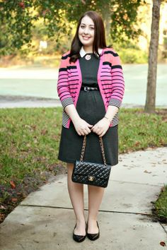 Houndstooth and Stripes