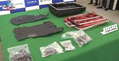 Alemão é detido no aeroporto de Narita por tráfico de drogas, de uma forma nunca antes utilizada.
