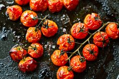 Balsamic Roasted Cherry Tomatoes.