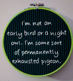 Embroidery hoop art. Funny inspirational by BookNerdEmbroidery
