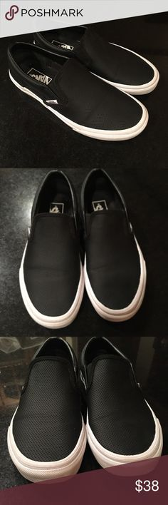 477b2efe9d Shop Women s Vans Black size 8 Sneakers at a discounted price at Poshmark.