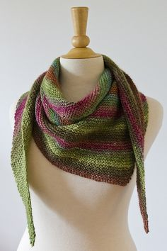 Sweet Noro by Ravelry user JumperCables (using Noro Silk Garden; pattern: Sweetie Scarf by JumperCablesKnitting)  http://www.ravelry.com/patterns/library/sweetie-scarf