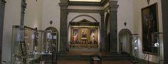 Firenze - Oratorio di San Sebastiano detto dei Bini -  museo parrocchiale d'arte sacra costituito in gran parte da opere anticamente presenti nell'edificio, recentemente restaurate e ricollocate, tali da consentire un percorso dal XV al XIX secolo. Citato dal 1287, è stato luogo di asilo per i poveri e per i pellegrini, sostenuto dai Bini, proprietari di case in quest'area cittadina.