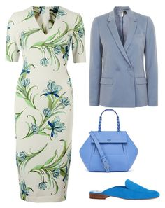 """""""work"""" by svetlana-lobacheva ❤ liked on Polyvore featuring Tory Burch, Dolce Vita and Topshop"""