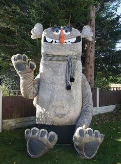 Giant character handmade by the AMAZING Felt Mistress — The Hiber-Nation