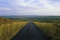 Whitman Road by Michael Forsberg in the Nebraska Sandhills, if you haven't driven on a road like this you haven't lived