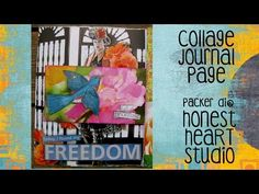#pawgustart - Full of Promise Collage Journal Page - YouTube