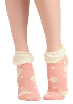 Rosy Toes Socks, #ModCloth so cute!!