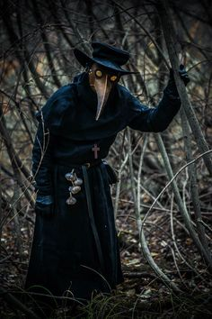 Plague Mask, Plague Dr, Plauge Doctor, Scp 049, Bubonic Plague, Doctor Costume, Arte Obscura, Black Death, Dark Photography
