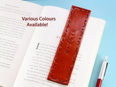 Click To Shop Now - Handmade Personalised Date Leather Bookmark, Hand Stamped Leather Book Mark. #personalised #date #leather #bookmark #handstamped Leather Gifts, Leather Books, Handmade Leather, Leather Anniversary Gift, Great Anniversary Gifts, Personalized Couple Gifts, How To Make Bookmarks, Music Gifts, Practical Gifts