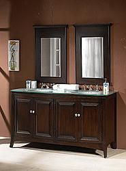 "60"" Diana (DA-690) : Bathroom Vanity #Diana #HomeRemodel #BathroomRemodel #BlondyBathHome #BathroomVanity"