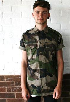 Camo T-Shirt!  £15  #vintage #camo #T-shirt