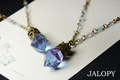 空鉱石のネックレス Jade Jewelry, Charm Jewelry, Pendant Jewelry, Jewelry Art, Handmade Accessories, Jewelry Accessories, Handmade Jewelry, Resin Jewelry Making, Magical Jewelry