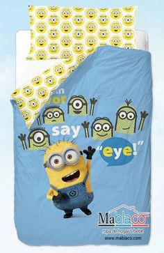 Oferta Sacos Nórdicos Minions Eye. ¡Pin it!