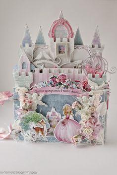AgiArt кафе: Вдохновение от Марины-Tomcat: Сказочный замок для юной принцессы! :)