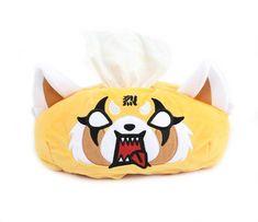 Aggretsuko Tissue Box Cover: Rage