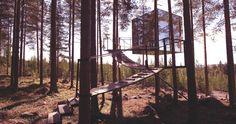 Wer hat als Kind nicht von einem Baumhaus geträumt? Aber wenn man ein bisschen in die Jahre kommt, weiß man auch Komfort zu schätzen
