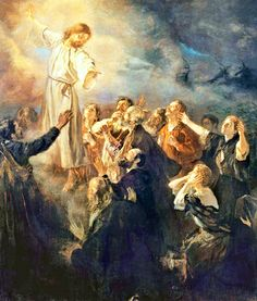 The Ascension of Jesus the Christ.