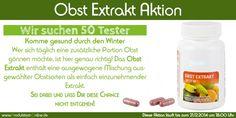 """Obst Extrakt """"Best of"""" - Produkttest-Online   Sei dabei und melde Dich zu diesem Test an! Es lohnt sich!"""
