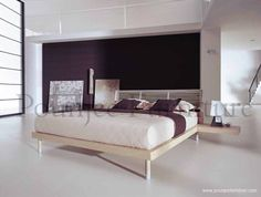BED MINIMALIS NATURAL | POUNJEE FURNITURE