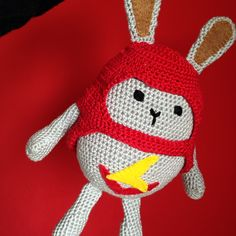 Hoppity Voosh. Crocheted by SewCrafty.