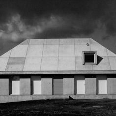 """Kazuo Shinohara designed in 1977 this House in Ashitaka as part of a group of stark, concrete houses.Inspired by the traditional """"Chise""""houses of Japan.These houses, of the Japanese indigenous v…"""