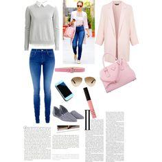 Pink Polyvore, Pink, Fashion, Moda, Rose, Fasion, Vs Pink