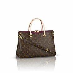 Louis Vuitton Pallas Monogram Canvas M40906