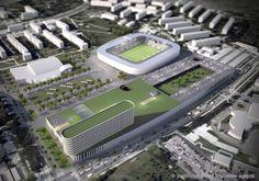 Stadium Olsztyn I Poland