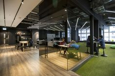 Hong Kong Warehouse Converted to Creative Office Space - https://freshome.com/hong-kong-warehouse-creative-office-space/