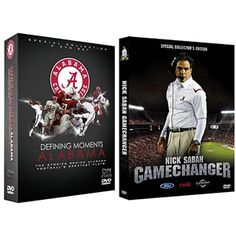 The Stories Behind Alabama Football Bundle: Defining Moments: Alabama / Nick Saban: Gamechanger @Scarlette Scarborough I bet he already has this doesn't he.....