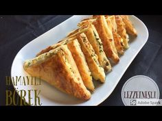 MİLFÖY DEĞİL YUFKA! | Hamayili Börek - YouTube Turkish Borek, French Toast, Bacon, Muffin, Brunch, Food And Drink, Breakfast, Ethnic Recipes, Camera Phone