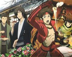 armor calendar date_masamune date_masamune_(basara) eyepatch katakura_kojuurou katakura_kojuurou_(basara) kimono male open_shirt sanada_yukimura sanada_yukimura_(basara) sarutobi_sasuke sarutobi_sasuke_(basara) sengoku_basara yamamoto_mika Awesome Anime, Anime Love, Anime Guys, Sengoku Basara, Sasuke Sarutobi, Recent Anime, Sanada Yukimura, Date Masamune, Asian Artwork