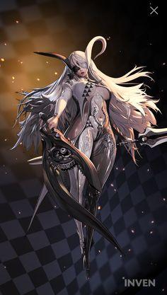 Kid Character, Female Character Design, Character Concept, Concept Art, Fantasy Warrior, Fantasy Girl, Anime Manga, Anime Art, Hyung Tae Kim