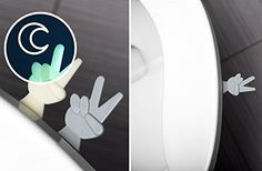 The Helping Hand Toilet Seat Lift Handle - Clean, Healthy...